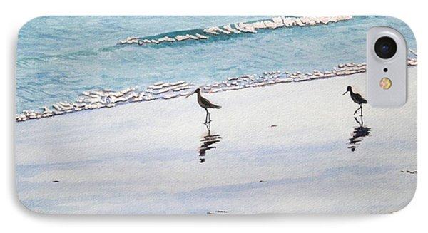 Shore Birds IPhone Case
