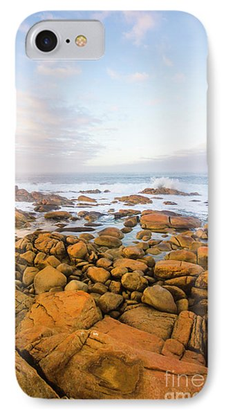 IPhone 7 Case featuring the photograph Shore Calm Morning by Jorgo Photography - Wall Art Gallery