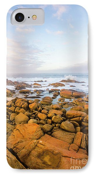 IPhone Case featuring the photograph Shore Calm Morning by Jorgo Photography - Wall Art Gallery