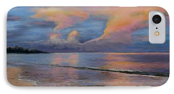 Shore Of Solitude Phone Case by Susan Jenkins