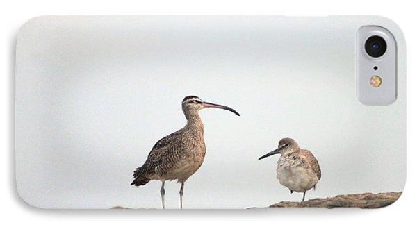 IPhone Case featuring the photograph Shorebirds Of Windansea Beach by Bruce Patrick Smith