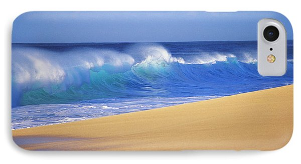 Shorebreak Waves IPhone Case by Ali ONeal - Printscapes