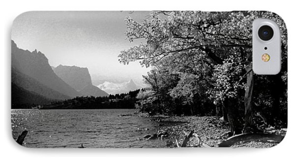 Shoreline Black And White IPhone Case