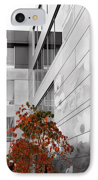 Shoreline City Hall IPhone Case by Mary Jo Allen