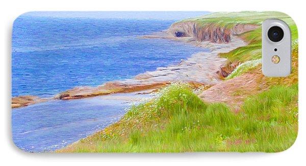 Shores Of Newfoundland Phone Case by Jeff Kolker