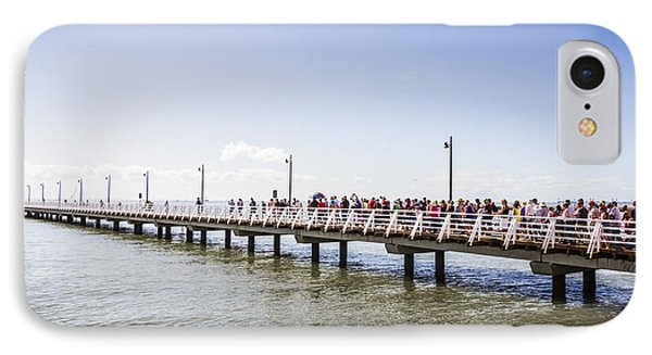 Shorncliffe Pier Opening Ceremony IPhone Case by Jorgo Photography - Wall Art Gallery