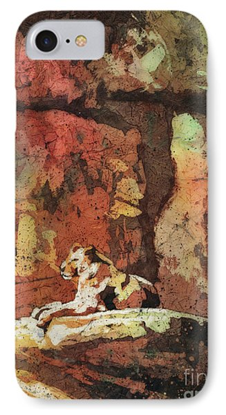 IPhone Case featuring the painting Short Reprieve by Ryan Fox