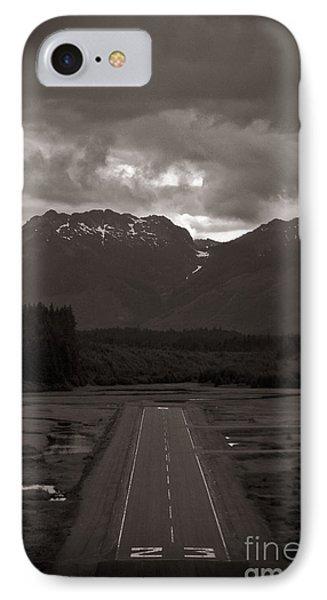 Short Runway IPhone Case by Darcy Michaelchuk