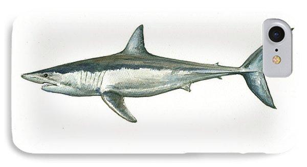 Shortfin Mako Shark IPhone Case