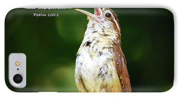 IPhone Case featuring the photograph Shout For Joy by Kerri Farley