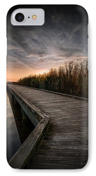 Shoveler Boardwalk IPhone Case by Allen Biedrzycki