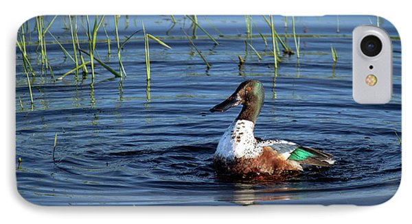 IPhone Case featuring the photograph Shoveler by Jean Noren