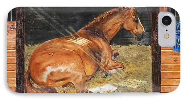 Show Day Nap Phone Case by Kristine Plum