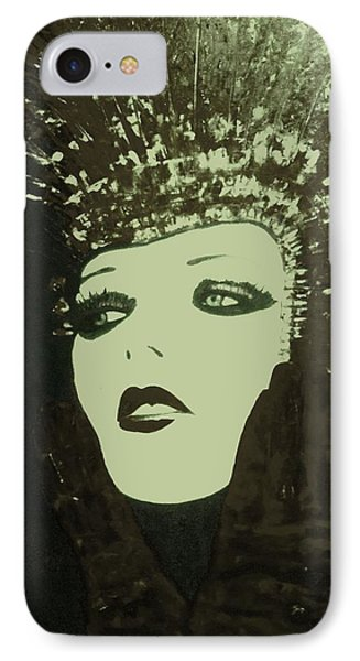Show Girl Molly IPhone Case by Frederick Lyle Morris