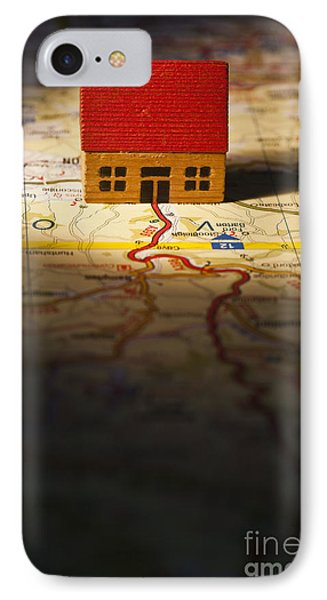 Show Me The Way To Go Home Phone Case by Jan Bickerton