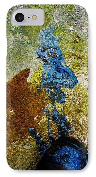 Show Of A Foot On The Ground IPhone Case by SeVen Sumet