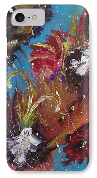 Showers Of Flowers IPhone Case