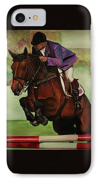 Showjumping Phone Case by Lucy Deane
