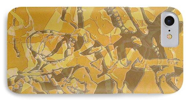 Shredded Notebook Stencil Phone Case by Ron Bissett
