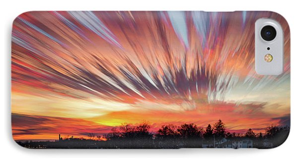 Shredded Sunset IPhone Case