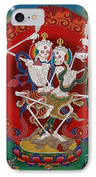 Shri Chittipati - Chokling Tersar IPhone Case by Sergey Noskov