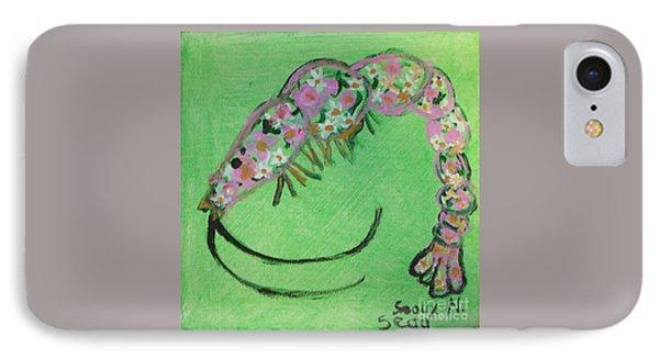 Shrimp Rolled In Flower IPhone Case