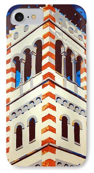 Shrine Bell Tower Detail IPhone Case by Sheri Buchheit