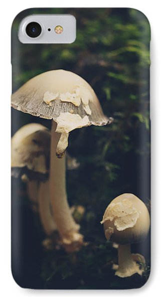Shroom Family IPhone Case by Shane Holsclaw
