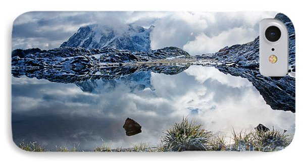 Shuksan In Fog Phone Case by Idaho Scenic Images Linda Lantzy