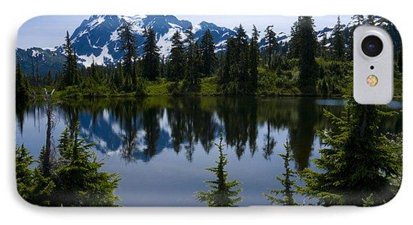 Shuksan In Spring Phone Case by Idaho Scenic Images Linda Lantzy