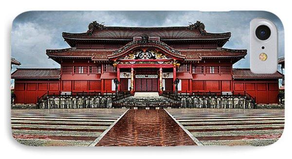 Shuri Castle IPhone Case