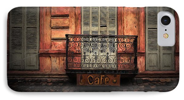 Shuttered Cafe IPhone Case by Paul Bucknall