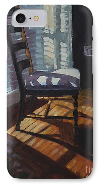 Shuttered Repose  IPhone Case by Nancy  Parsons
