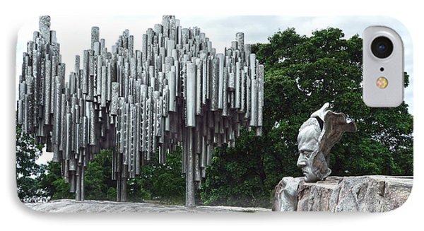 Sibelius Monument IPhone Case