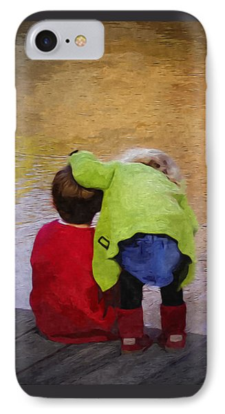 Sibling Love IPhone Case by Brian Wallace