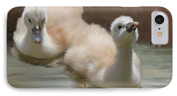 Siblings IPhone Case by Donna Kennedy