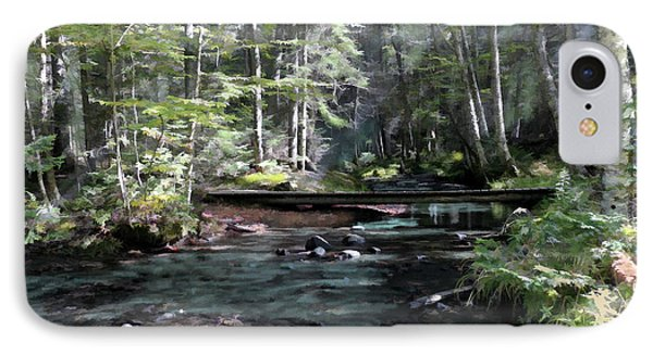 Side Brook IPhone Case by John Selmer Sr