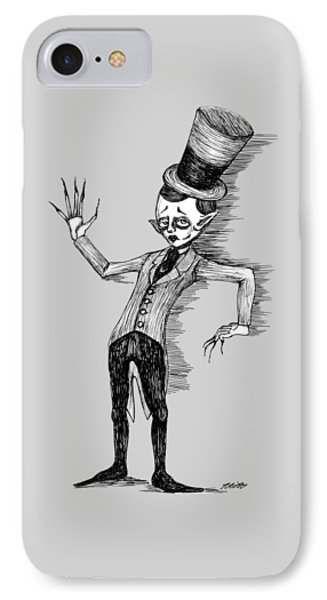Side Show Performer IPhone Case by Akiko Okabe