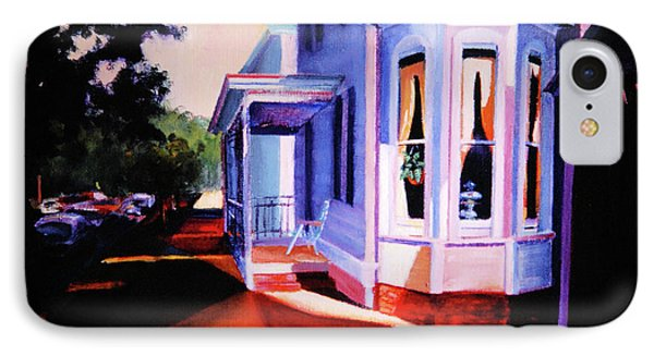 Side Street - Lambertville IPhone Case by Robert Henne