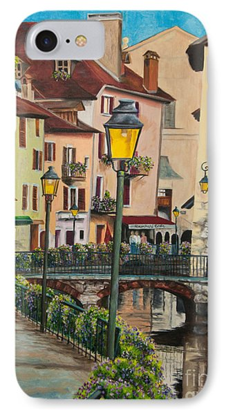 Side Streets In Annecy IPhone Case