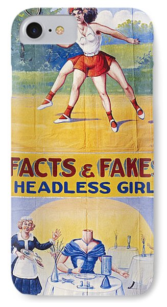 Sideshow Poster, C1975 Phone Case by Granger