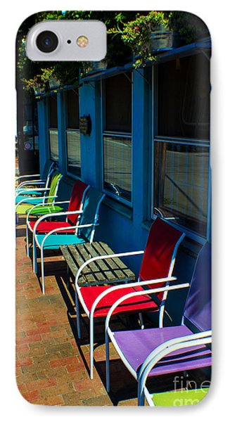 Sidewalk Cafe IPhone Case