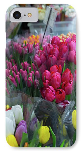 IPhone Case featuring the photograph Sidewalk Flowers by Lora Lee Chapman