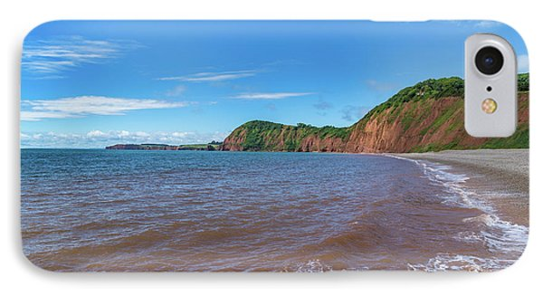 IPhone Case featuring the photograph Sidmouth Jurassic Coast by Scott Carruthers