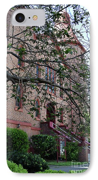 IPhone Case featuring the photograph Sidney Park Cme Church by Skip Willits