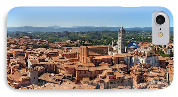 Siena, Italy Panorama IPhone Case