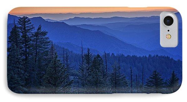 Sierra Fire IPhone 7 Case by Rick Berk