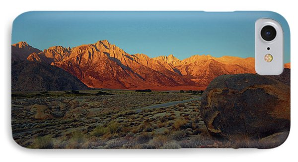 Sierra Nevada Sunrise IPhone Case