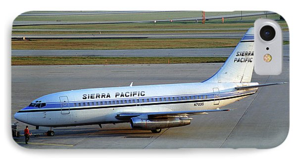Sierra Pacific Airlines Boeing 737, N703s IPhone Case by Wernher Krutein
