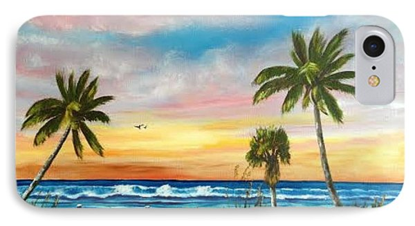 Siesta Key At Sunset IPhone Case by Lloyd Dobson